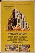 "Movie Posters:Academy Award Winners, Ben-Hur (MGM, 1959). Poster (40"" X 60"") Style Y. Academy AwardWinners.. ..."