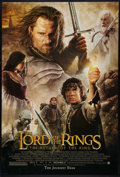 "Movie Posters:Fantasy, The Lord of the Rings: The Return of the King (New Line, 2003). OneSheet (27"" X 40"") DS Advance. Fantasy.. ..."
