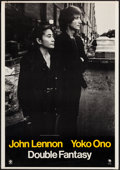 """Movie Posters:Rock and Roll, Double Fantasy by John Lennon & Yoko Ono (Geffen, 1980). AlbumPoster (28"""" X 40""""). Rock and Roll.. ..."""