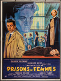 """Movie Posters:Bad Girl, Women's Prison (CFDC, 1958). French Grande (47"""" X 63""""). Bad Girl....."""