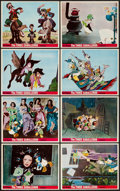 "Movie Posters:Animation, The Three Caballeros (Buena Vista, R-1970s). British Color MiniLobby Card Set of 8 (8"" X 10""). Animation.. ... (Total: 8 Items)"