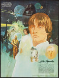 "Movie Posters:Science Fiction, Star Wars (20th Century Fox, 1977). Coca Cola Promotional Tie-InPosters (3) (18"" X 24"") #1 / 4 Luke Skywalker, #2 / 4 R2D2...(Total: 3 Items)"