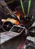 """Movie Posters:Science Fiction, Star Wars & Other Lot (Factors, Etc., 1977). Official Star WarsFan Club Posters (2) (20"""" X 27"""" & 20"""" X 28""""). Science Fictio...(Total: 2 Items)"""