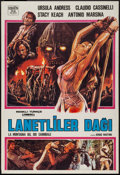 "Movie Posters:Adventure, Slave of the Cannibal God (New Line, 1979). Turkish One Sheet (27""X 39.5""). Adventure.. ..."