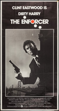 "The Enforcer (Warner Brothers, 1977). International Three Sheet (41"" X 77""). Crime"