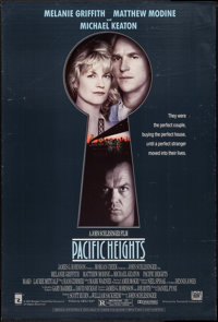 "Pacific Heights (20th Century Fox, 1990). One Sheet (27"" X 40"") DS. Thriller"