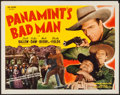 "Movie Posters:Western, Panamint's Bad Man (Guaranteed Pictures, R-1940s). Half Sheet (22"" X 28""). Western.. ..."