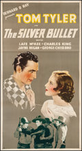 """Movie Posters:Western, The Silver Bullet (Reliable, 1935). Three Sheet (41.5"""" X 77""""). Western.. ..."""