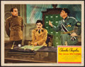 "Movie Posters:Comedy, The Great Dictator (United Artists, 1940). Lobby Card (11"" X 14"").Comedy.. ..."