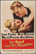 """Movie Posters:Drama, The Bad and the Beautiful (MGM, 1953). One Sheet (27"""" X 41"""").Drama.. ..."""