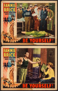 "Movie Posters:Musical, Be Yourself (United Artists, 1930). Lobby Cards (2) (11"" X 14""). Musical.. ... (Total: 2 Items)"