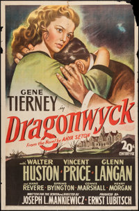"Dragonwyck (20th Century Fox, 1946). One Sheet (27"" X 41""). Thriller"