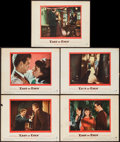 "Movie Posters:Drama, East of Eden (Warner Brothers, 1955). Lobby Cards (5) (11"" X 14"").Drama.. ... (Total: 5 Items)"