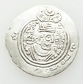 Ancients:Oriental, Ancients: ARAB-SASANIAN. Khusro type. 7th century AD. AR drachm (3.62 gm). ...