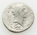 Ancients:Roman Provincial , Ancients: CILICIA. Aegae. Hadrian (AD 117-138). AR tridrachm (9.89gm)....