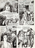 Original Comic Art:Panel Pages, John Buscema and Alfredo Alcala The Savage Sword of Conan#12 Page 52 Original Art (Marvel, 1976)....