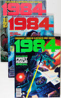 Magazines:Science-Fiction, 1984 Group (Warren, 1978-83) Condition: Average FN+.... (Total: 40Comic Books)