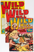 Golden Age (1938-1955):Western, Wild Bill Hickok #1, 3, and 4 Group (Avon, 1949-50) Condition:Average FN/VF.... (Total: 3 Comic Books)