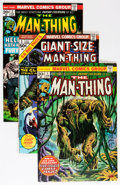 Bronze Age (1970-1979):Horror, Man-Thing #1-22 Complete Run Plus Group (Marvel, 1974-75)Condition: Average VF/NM.... (Total: 27 Comic Books)