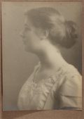 Photography:Studio Portraits, Jesse Banfield (1877-1946). SIGNED. Original Hand-Toned Silver Gelatin Photograph Believed to Be of His Niece, Muriel. M...
