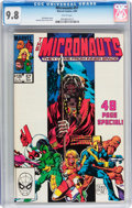 Modern Age (1980-Present):Science Fiction, Micronauts #57 (Marvel, 1984) CGC NM/MT 9.8 White pages....