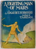 Books:Science Fiction & Fantasy, Edgar Rice Burroughs. A Fighting Man of Mars. New York: Grosset and Dunlap, 1931. Reprint edition. Octavo. 319 pages...