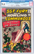 Sgt. Fury and His Howling Commandos #8 Don/Maggie Thompson Collection pedigree (Marvel, 1964) CGC NM+ 9.6 White pages...