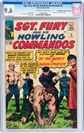 Silver Age (1956-1969):War, Sgt. Fury and His Howling Commandos #5 Don/Maggie Thompson Collection pedigree (Marvel, 1964) CGC NM+ 9.6 Off-white to white p...