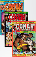 Bronze Age (1970-1979):Adventure, Conan the Barbarian Group - Don/Maggie Thompson Collection pedigree (Marvel, 1971-74) Condition: Average VF.... (Total: 9 Comic Books)
