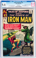 Silver Age (1956-1969):Superhero, Tales of Suspense #54 Don/Maggie Thompson Collection pedigree (Marvel, 1964) CGC NM 9.4 White pages....