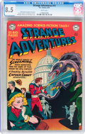 Golden Age (1938-1955):Science Fiction, Strange Adventures #11 (DC, 1951) CGC VF+ 8.5 White pages....