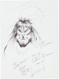 Original Comic Art:Sketches, Sam Kieth Conan the Barbarian Sketch Original Art (undated)....