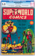 Golden Age (1938-1955):Science Fiction, Superworld Comics #1 (Hugo Gernsback, 1940) CGC VG/FN 5.0 Off-whiteto white pages....