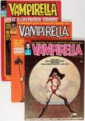Magazines:Horror, Vampirella and Blazing Combat Group (Warren, 1966-72).... (Total: 4 Comic Books)