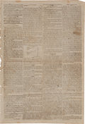 Miscellaneous:Newspaper, [Death of Lord Horatio Nelson]. Newspaper: The Courier....