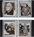 Autographs:U.S. Presidents, Franklin D. Roosevelt Collection of Presidential Press Photos...(Total: 2 Items)