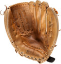 Baseball Collectibles:Others, Ron Guidry Enormous Signed Baseball Glove....