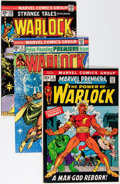 Bronze Age (1970-1979):Superhero, Warlock Related Titles Group (Marvel, 1970s) Condition: Average FN.... (Total: 21 Comic Books)