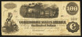 Confederate Notes:1862 Issues, T40 $100 1862 PF- Cr. 298.. ...