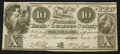 Obsoletes By State:Michigan, Flint Rapids, MI- The Farmers Bank of Genesee County $10 Jan. 1, 1838. ...