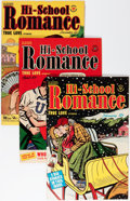 Silver Age (1956-1969):Romance, Hi-School Romance File Copies Group (Harvey, 1950-63) Condition:Average VF.... (Total: 67 Comic Books)