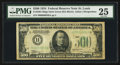 Small Size:Federal Reserve Notes, Fr. 2201-H $500 1934 Federal Reserve Note. PMG Very Fine 25.. ...