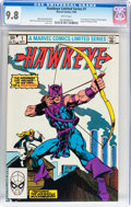 Modern Age (1980-Present):Superhero, Hawkeye #1 (Marvel, 1983) CGC NM/MT 9.8 White pages....
