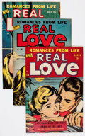 Golden Age (1938-1955):Romance, Real Love Group (Ace Periodicals, 1948-56) Condition: AverageVF-.... (Total: 33 Comic Books)
