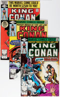Modern Age (1980-Present):Science Fiction, King Conan Group (Marvel, 1980-89) Condition: Average NM....(Total: 53 Comic Books)