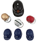 Miscellaneous Collectibles:General, Misc. Sports Greats Signed Mini Helmets Lot of 7....