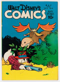 Golden Age (1938-1955):Cartoon Character, Walt Disney's Comics and Stories #68 (Dell, 1946) Condition: FN/VF....
