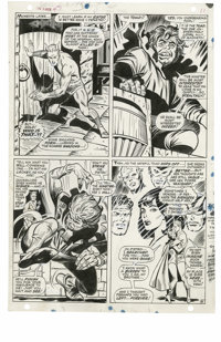 George Tuska and John Tartaglione - X-Men #43, page 7 Original Art (Marvel, 1968). On an unknown island somewhere in the...