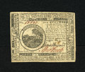 Colonial Notes:Continental Congress Issues, Continental Currency May 9, 1776 $6 Choice About New. A crisp andwonderfully margined example of this early Continental emi...