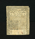 Colonial Notes:Connecticut, Connecticut June 19, 1776 9d Extremely Fine. This is a very niceexample of this less common issue that is well printed with...